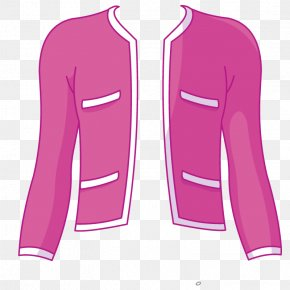 Vector Ms. Jacket - Sleeve Outerwear Jacket Clothing PNG