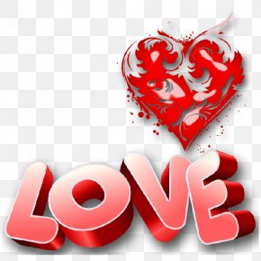 I Love You - Valentine's Day Heart Love Clip Art PNG