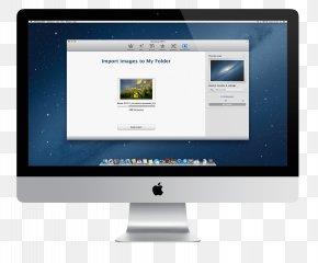 Monitor Image - IMac Intel Core I5 Hard Disk Drive Desktop Computer Intel Core I7 PNG