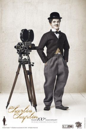 Charlie Chaplin - The Tramp Action & Toy Figures Film Producer 1:6 Scale Modeling PNG