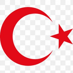 Turki - National Emblem Of Turkey Star And Crescent Ayyildiz Team Red PNG