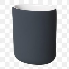Blue Grey Cup - Cylinder Angle PNG