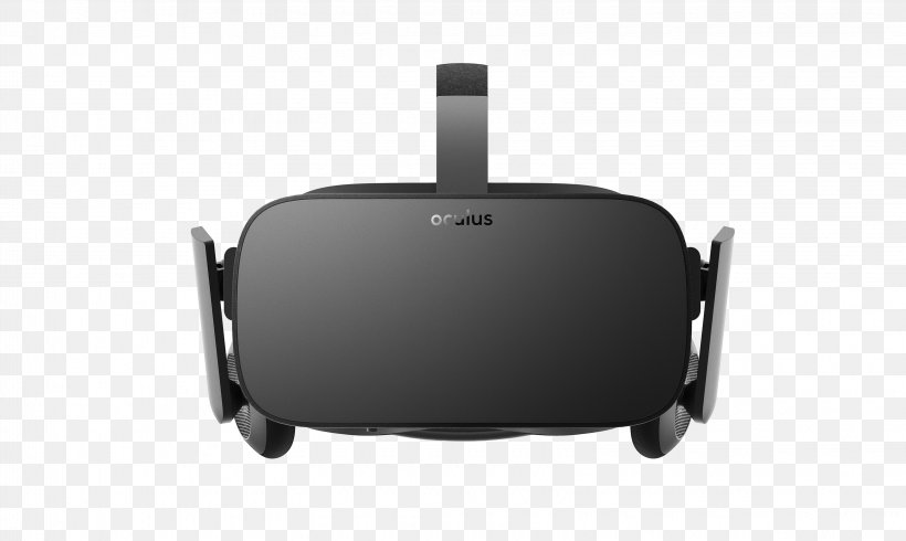 Oculus Rift Virtual Reality Headset Samsung Gear VR PlayStation VR HTC Vive, PNG, 3250x1944px, Oculus Rift, Bag, Black, Electronics, Facebook Inc Download Free