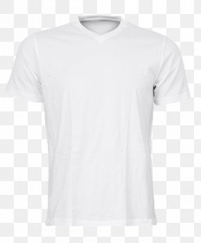 White T-shirt - T-shirt Jersey Sleeve PNG