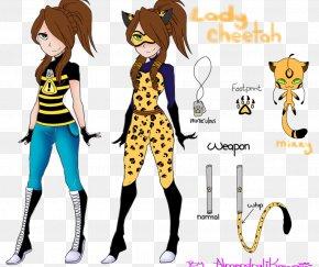 Ladybug - Cheetah Leopard Jaguar Sunset Shimmer Drawing PNG