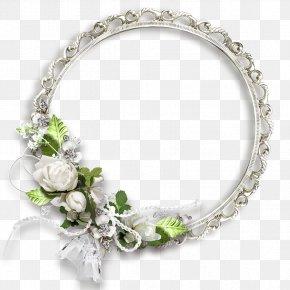 Floral Round Frame Transparent Picture - Flower Picture Frame Clip Art PNG