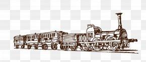 Artwork Train - Train Car Euclidean Vector Transport PNG