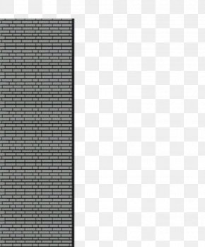Brick Pattern - Material Texture Black And White Angle Pattern PNG