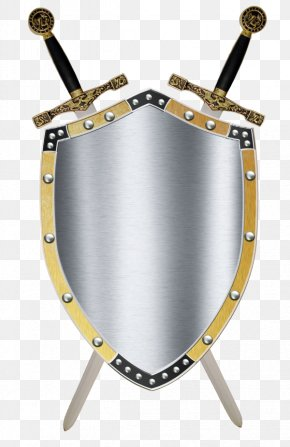 Free Shield Clipart - Middle Ages Shield Sword Knight Clip Art PNG