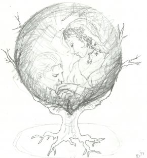 Sketch Of Ball - Crystal Ball Drawing Pencil Sketch PNG