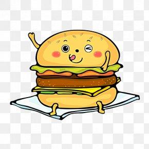 Lovely Burger - Hamburger Fast Food Buffalo Burger Cheeseburger PNG