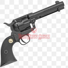 Weapon - Revolver Firearm Colt Single Action Army Blank Weapon PNG