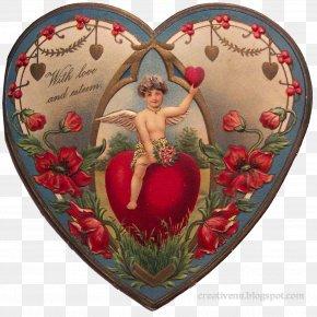 Valentines - Victorian Era Valentine's Day Greeting & Note Cards Heart Ephemera PNG