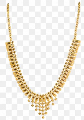Necklace - Necklace Earring Jewellery Gold Chain PNG