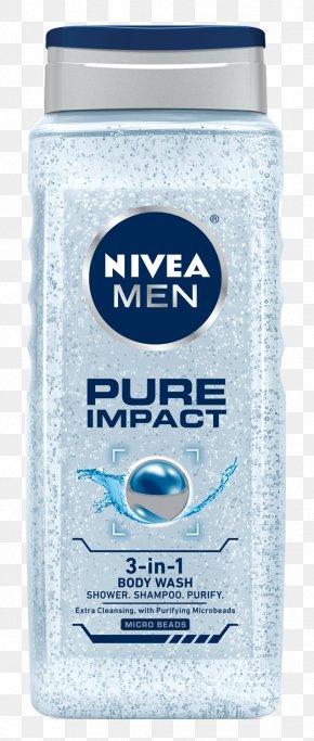 Shower-gel - Lotion NIVEA Men Care Shampoo Pure Anti-Dandruff Shower Gel Deodorant PNG