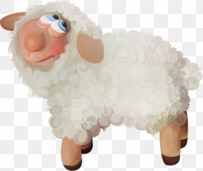 Cartoon Sheep - Painted Sheep Cartoon PNG