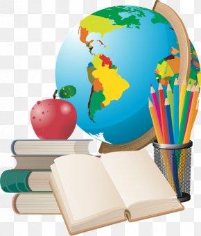 Students - School Supplies Clip Art PNG