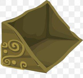 Pyramid Beige - Green Brown Leaf Tent Beige PNG