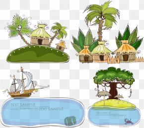 Summer Resort - Cartoon Gratis Sea PNG