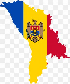 Pixel Flag - Flag Of Moldova Map Moldavian Soviet Socialist Republic PNG