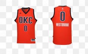 Thunder Jersey No. 0 - Oklahoma City Thunder NBA Icon PNG
