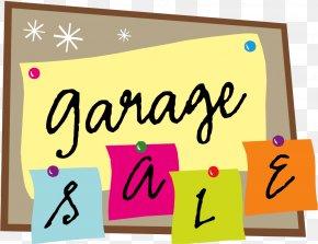 Sale - Garage Sale Sales House Clip Art PNG