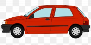 Renault - Ford Fiesta Car Volkswagen Golf Ford Falcon (XY) PNG