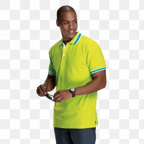T-shirt - T-shirt Polo Shirt Sleeve Shoulder High-visibility Clothing PNG