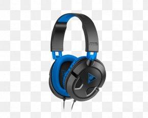 Headphones - Turtle Beach Ear Force Recon 60P PlayStation 4 PlayStation 3 Headphones Video Game PNG