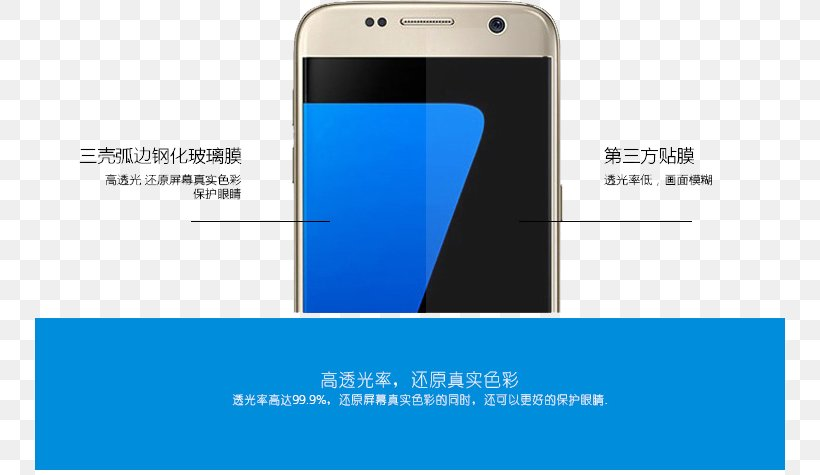 Smartphone Logo Mobile Phone, PNG, 750x475px, Samsung Galaxy Note 7, Blue, Brand, Communication Device, Electronic Device Download Free