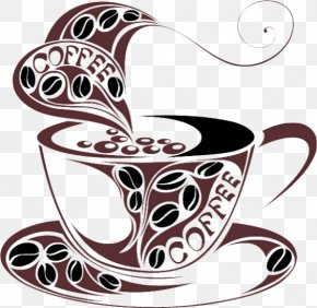 Cafe Graphic - Coffee Cup Cafe Espresso Latte PNG