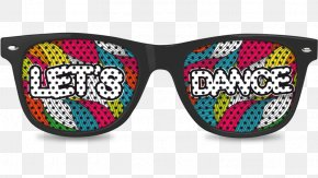 Lets Dance - Goggles Sunglasses PNG