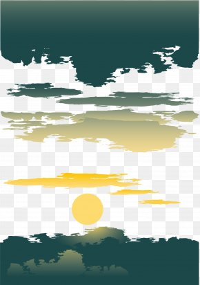 Sunset Sunset Vector PNG