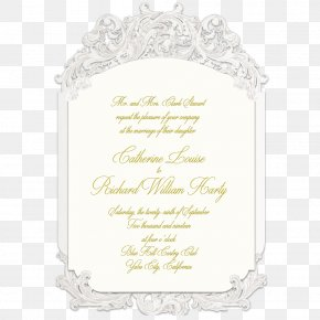 Wedding - Wedding Invitation Picture Frames Convite Font PNG