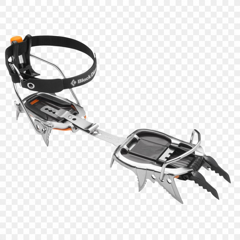 Crampons Black Diamond Equipment Mixed Climbing Ice Climbing Mountaineering, PNG, 1000x1000px, Crampons, Automotive Exterior, Backcountrycom, Black Diamond Equipment, Boot Download Free
