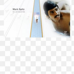 United States - Mark Spitz Swimming At The 1972 Summer Olympics – Men's 100 Metre Freestyle United States Autograph Line PNG