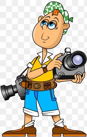 Male Photographer - Profession Job Clip Art PNG