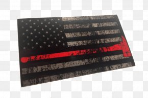 United States - Decal Sticker Thin Blue Line United States The Thin Red Line PNG