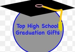 High School Graduation - Graduation Ceremony Square Academic Cap High School Clip Art PNG