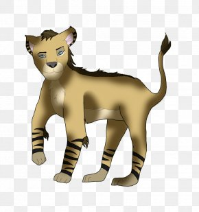 Cat - Big Cat Lion Terrestrial Animal Clip Art PNG