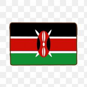 Flag Of Kenya - Flag Of Kenya National Flag Fahne PNG