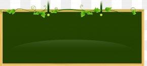 Green Chalkboard - Green Blackboard Learn PNG