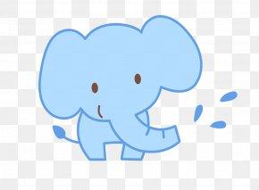 Super Meng Of The Cartoon Elephant - Elephant Child Cartoon Doll PNG