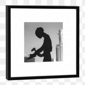 M SilhouetteBilderrahmen Silhouette - Frankfurt Photograph Picture Frames Black & White PNG