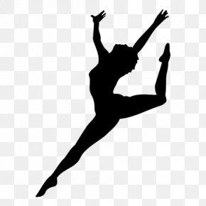 Silhouette - Ballet Dancer Silhouette Dance Studio Pole Dance PNG
