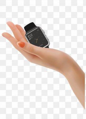 Vector Hand Apple Watch - Hand Euclidean Vector Apple Watch PNG