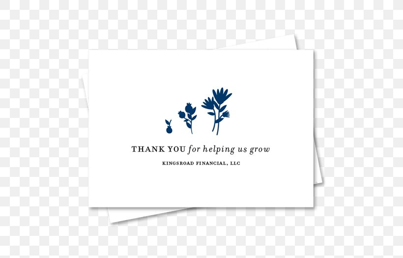 Seed Paper Wedding Invitation Letter Of Thanks Greeting
