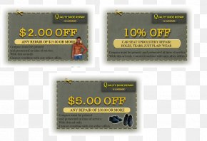 Shoe Repair - Discounts And Allowances Quality Shoe Repair & Luggage Coupon PNG