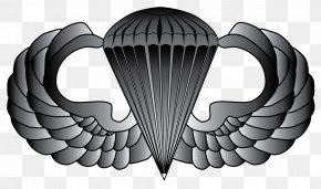 United States - United States Army Airborne School Parachutist Badge 101st Airborne Division Airborne Forces PNG