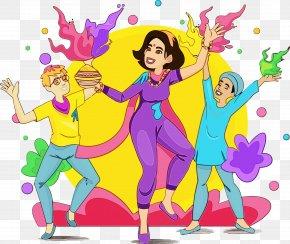 Dance Event - Cartoon Fun Celebrating Happy Event PNG